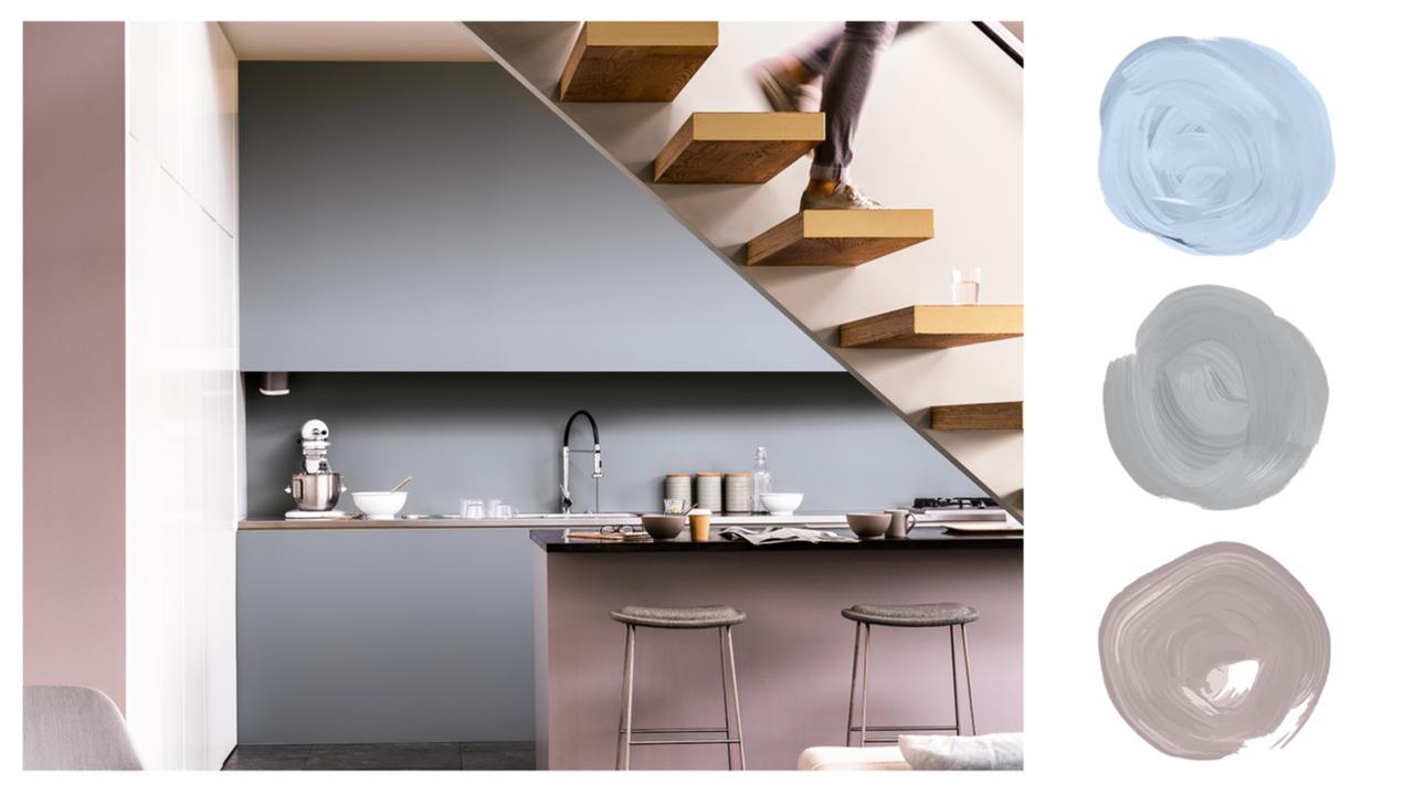 Timeless Grey Kitchen Dulux Zimbabwe